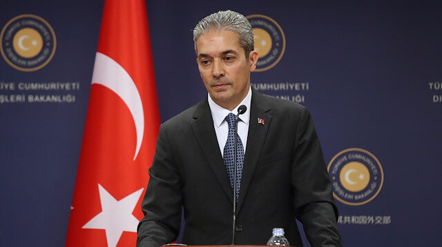 Turkish FM Spokesman Hami Aksoy