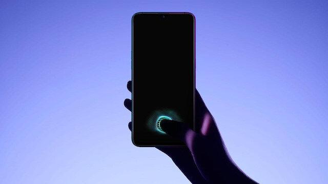Oppo akıllı telefon.