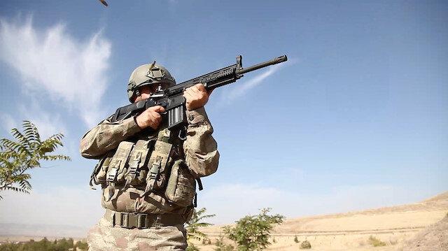 بعيدًا عن السلاح الأجنبي.. القوات التركية تتسلح بنندقية محلية الصنع