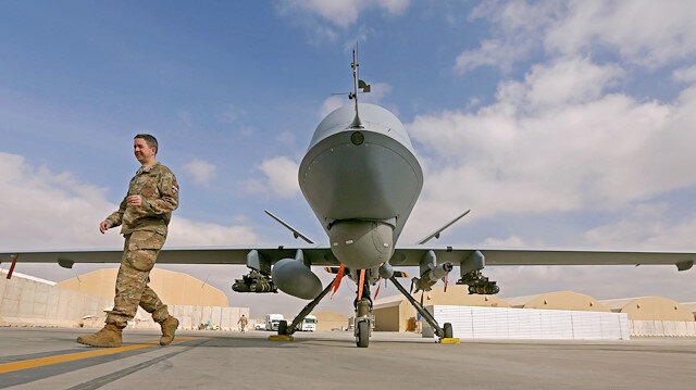 US military drone shot down over Yemen: officials