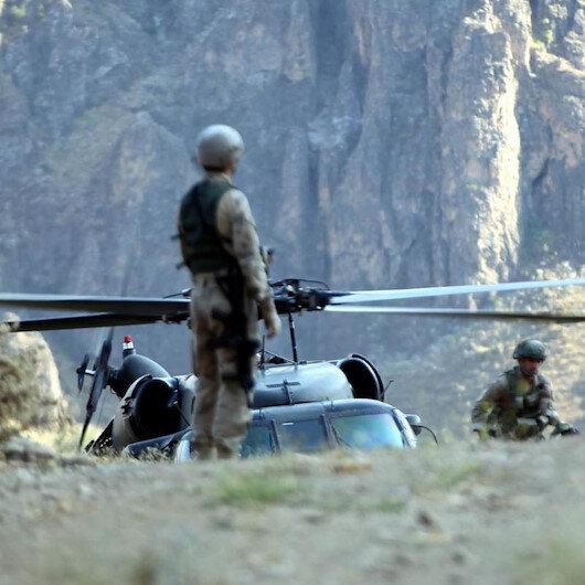 Şırnak'ta terör operasyonu: 1 asker şehit 3 asker yaralı