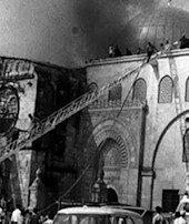 Dünyayı yakan ateş:Mescid-i Aksa yangını...