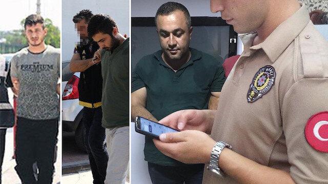 Atilla Can Özyıldırım (solda), Hasan Bozdoğan (ortada), Mehmet Emin Gergersoy (sağda)