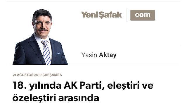 18. yılında AK Parti, eleştiri ve özeleştiri arasında