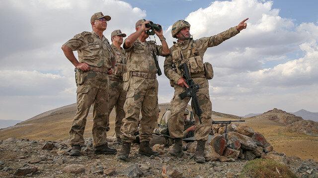 Jandarma Genel Komutanı Arif Çetin: Dağlar teröristlerden tamamen temizlendi