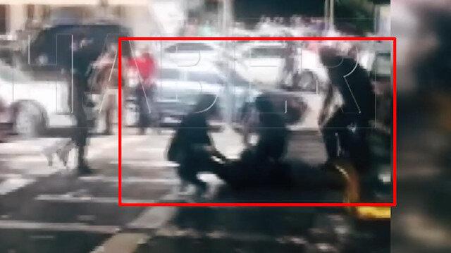 Şanlıurfa'da yakalanan canlı bombanın görüntüleri ortaya çıktı