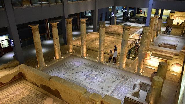 """متحف الفسيفساء """"زيوغما"""" التركي يسجّل رقمًا قياسيًا بعدد الزوار"""