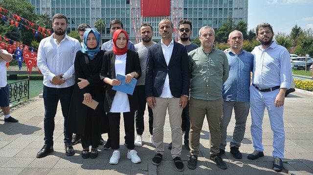 Medya AŞ'de işten çıkarılanlar İBB önünde açıklama yaptı