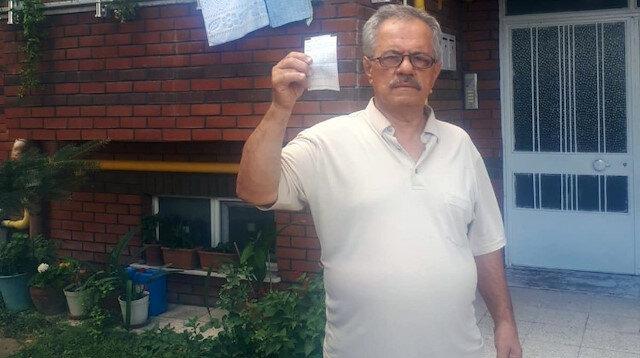 18 aydır boş duran evine gelen su faturasını görünce şaşkına döndü