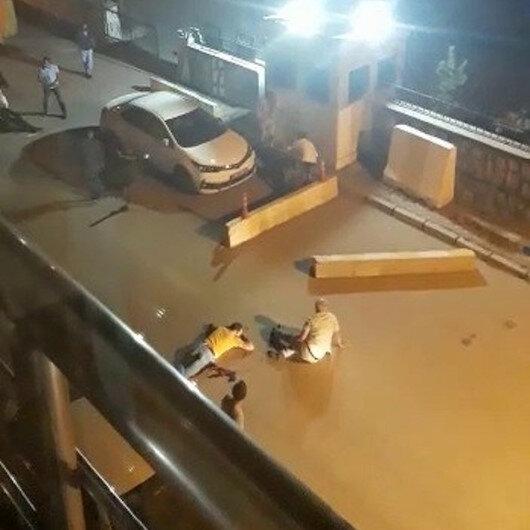 Erzurum'da karakol önünde silahlı kavga: 2 ölü