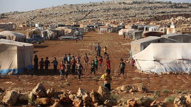جمعية تكشف عن عدد السوريين النازحين داخل منطقة خفض التصعيد