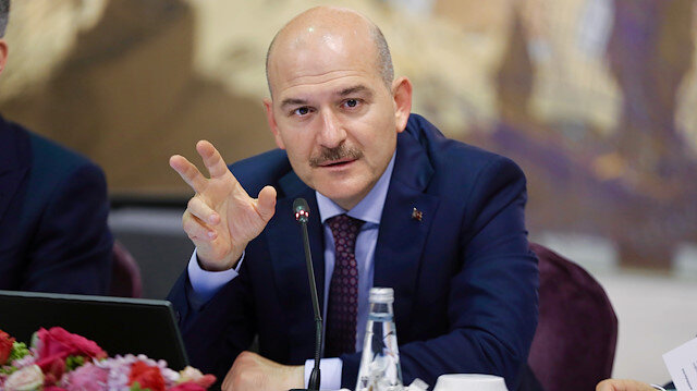 Turkish Interior Minister Suleyman Soylu