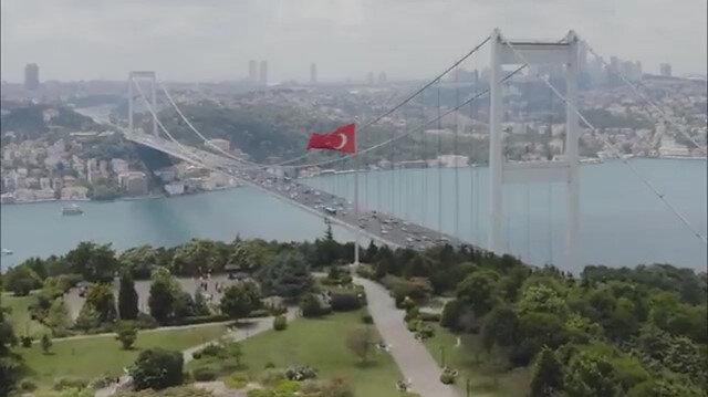 İletişim Başkanı Altun'dan İkinci Vatan: Türkiye belgeseli paylaşımı