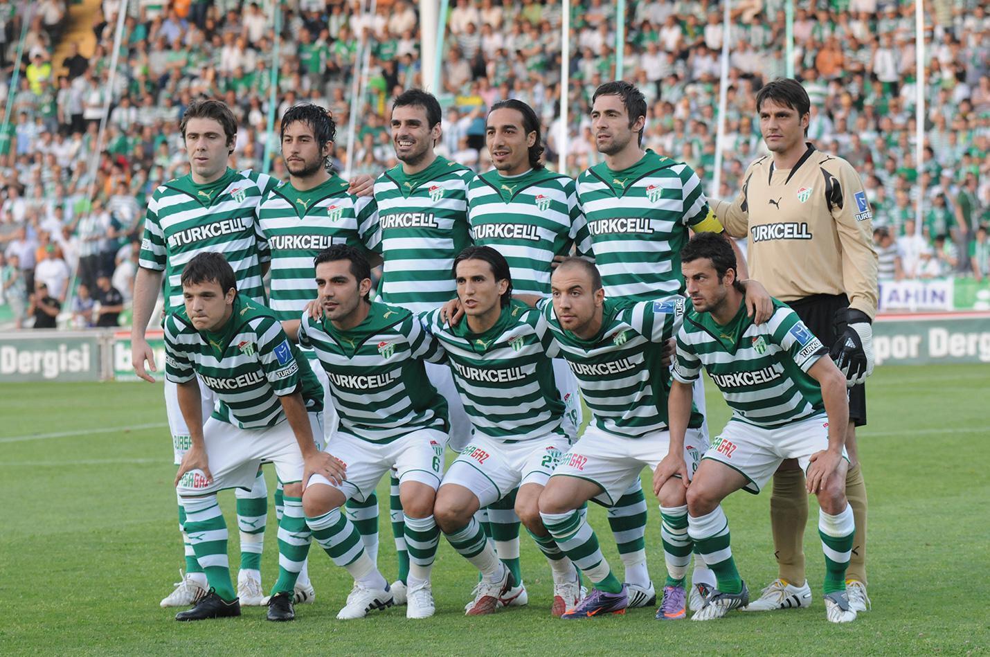 Bursaspor'un 2009-2010sezonu kadrosu