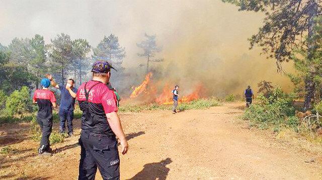 Bursa'daki yangında sabotaj ihtimali yüzde 90