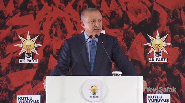 Erdoğan: Esameleri okunmadı okunmayacak