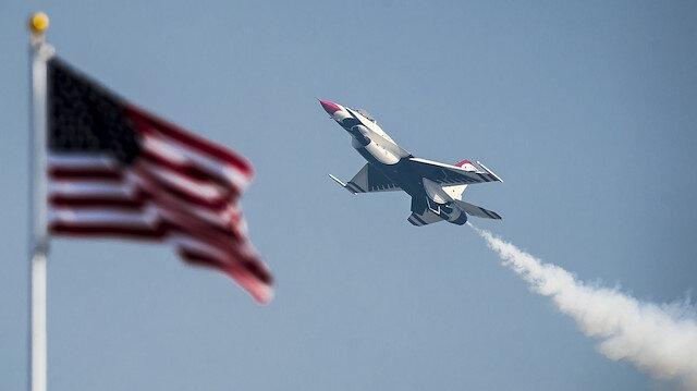 ABD'de eski F-16 sivil satışa çıkarıldı.