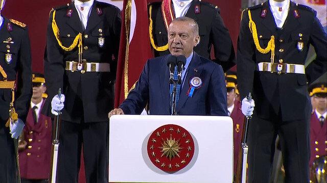 Cumhurbaşkanı Erdoğan: Doğu Akdenizde Türkiyenin olmadığını söyleyen zavallılar var