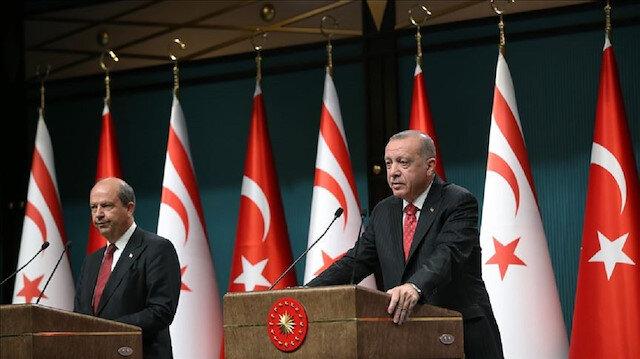 أردوغان: سنواصل الدفاع عن مصالح القبارصة الأتراك كما ندافع عن حقوقنا