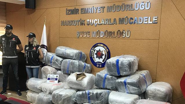 الأمن التركي يضبط 600 كغ من المخدرات غربي البلاد