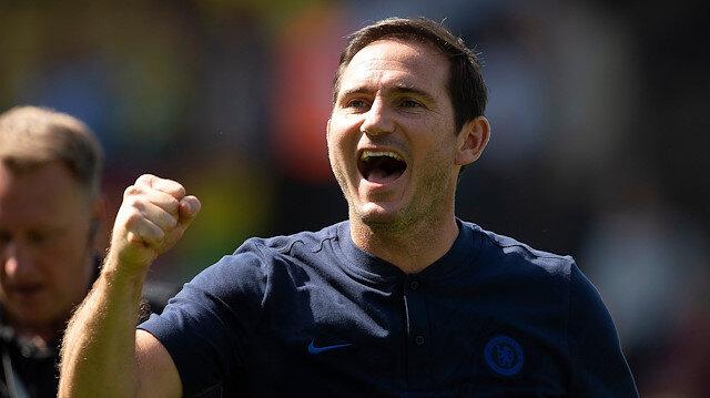 Lampard ilk galibiyetini aldı