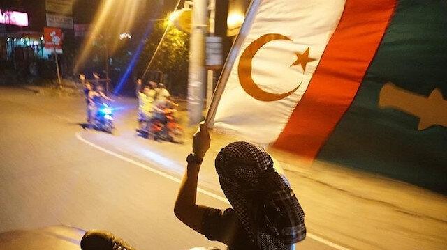 Moro Müslümanlarının yeni bayrağı: Bangsamoro