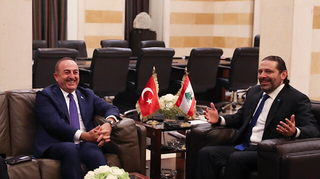 ماذا دار بين وزير الخارجية التركي والحريري؟
