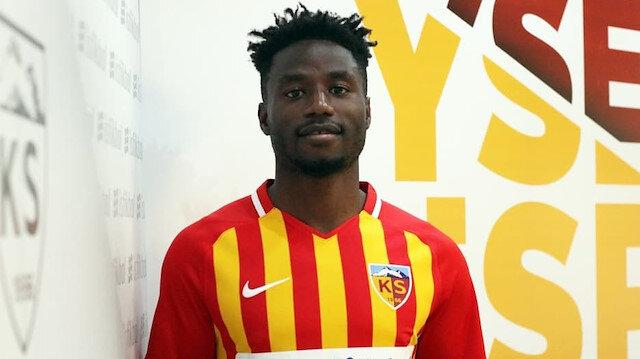 Kayserispor'a Kamerunlu golcü