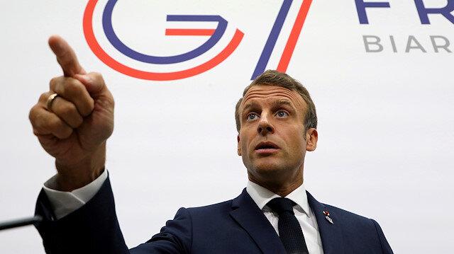 Macron: Afrika ile stratejik ortaklık kurmaya çalışıyoruz