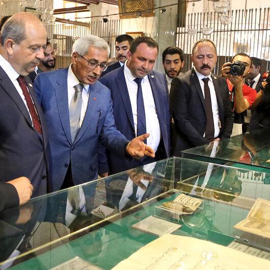 KKTC Başbakanı Mevlana Müzesi'ni ziyaret etti