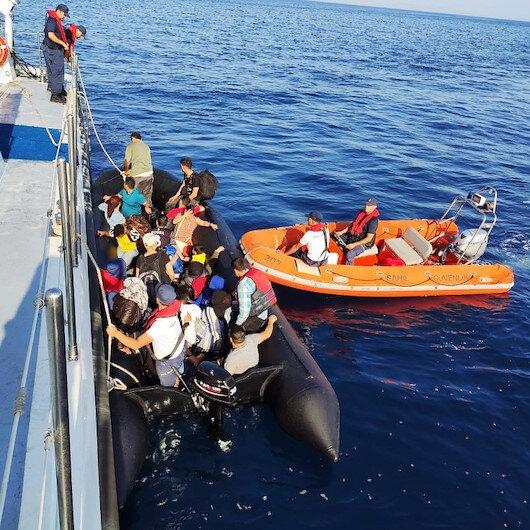 Didim'de 79 göçmen yakalandı