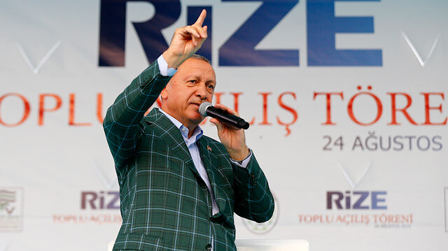 الرئيس أردوغان: نواجه قوى لها حسابات في شرق المتوسط