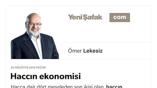 Haccın ekonomisi