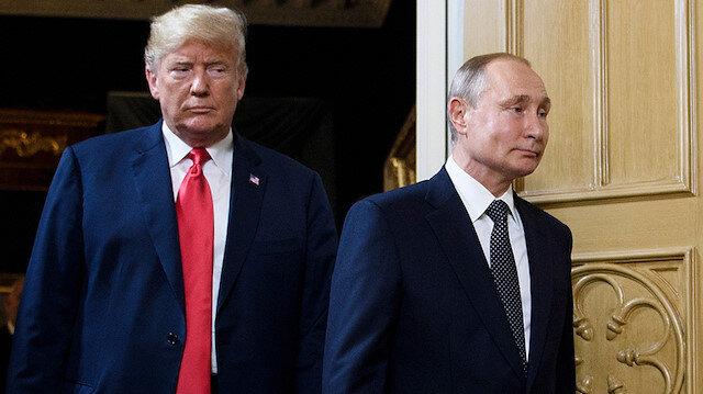 ABD Başkanı Trump ve Rusya Lideri Putin.