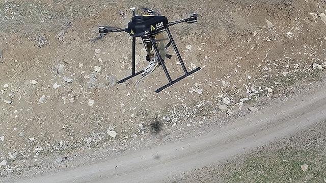 Silahlı drone Songar tehditleri bertaraf edecek.