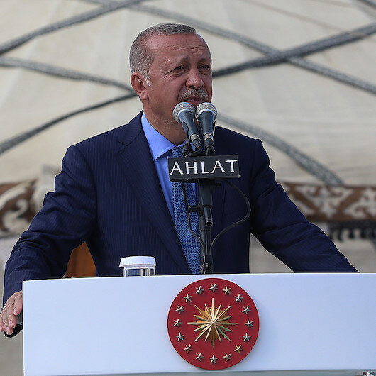 Erdoğan'dan Malazgirt Zaferi'nin yıl dönümüne özel paylaşım