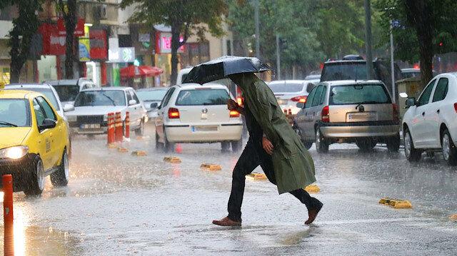 Meteorolojiden 13 ile yağış uyarısı