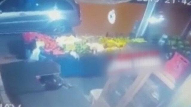 Ankaradaki deprem anı kamerada