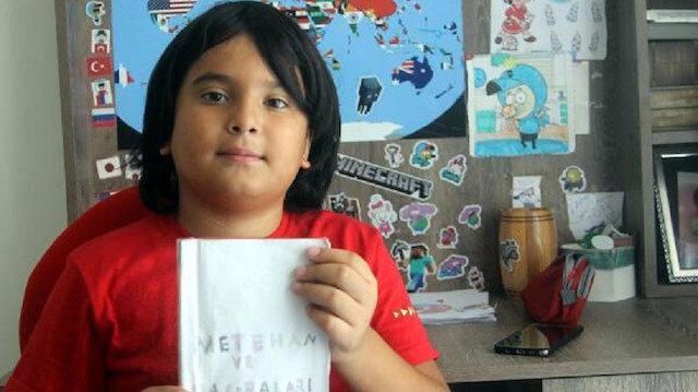 11 yaşında kitap yazdı yayımlamak istiyor