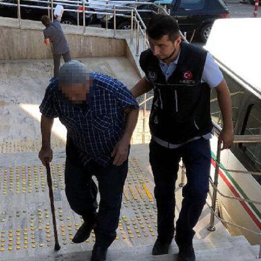 74'lük dede uyuşturucu ticaretinden gözaltına alındı