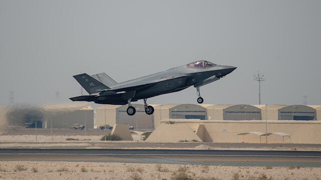 File photo: An F-35A Lightning II takes off