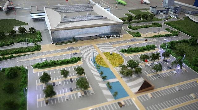 ESTA Construction, Yuri Gagarin Havalimanı'nı hizmete açtı