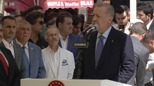 Erdoğan, Şule Yüksel Şenlerin cenaze törenine katıldı