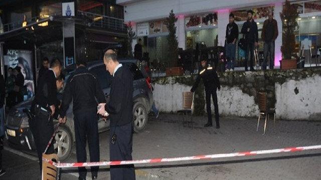 Samsun'da lokantaya silahlı saldırı: 1 ölü, 2 yaralı