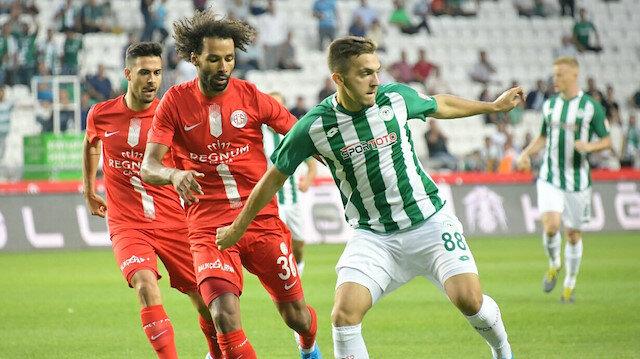 Konyaspor - Antalyaspor: 2-2