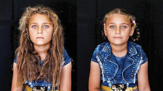 """Suriye'deki mülteci kamplarında yaşayan 2 bin kız çocuğuna yönelik """"Hem Saçlara Hem Kalplere Örgü"""" projesi gerçekleştirildi."""