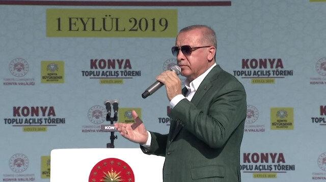 Cumhurbaşkanı Erdoğan: İşleri güçleri yalan