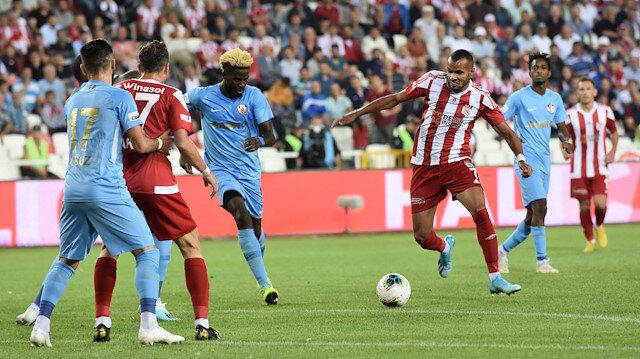 Demir Grup Sivasspor - Gazişehir Gaziantep: 1-1