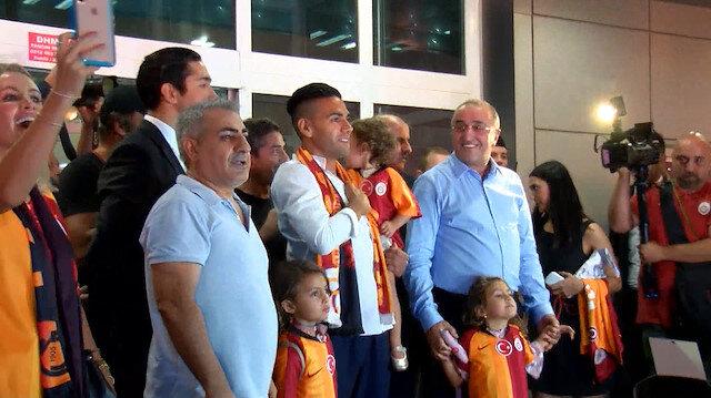 Radamel Falcao İstanbula geldi