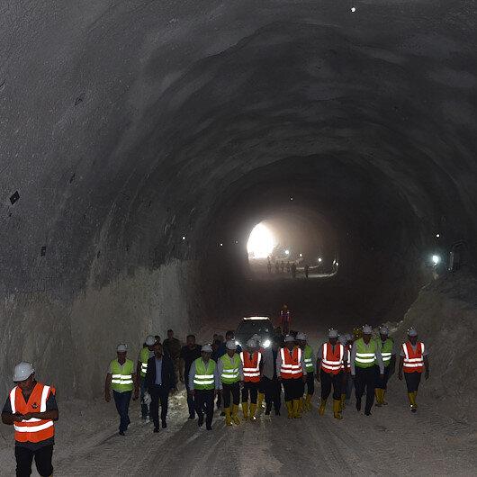 Hasankeyf Tüneli'nde ışık göründü